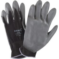 Hi tech assembly coated gloves
